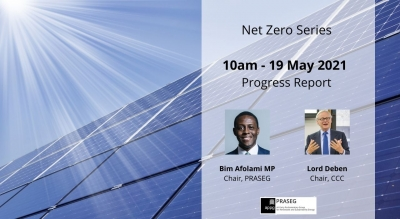 Net Zero Series - May Progress Report with Lord Deben